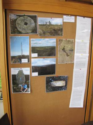 Lyke Wake exhibition noticeboard