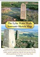 The Lyke Wake Walk Souvenir Sketch Map